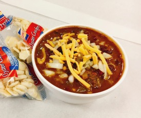"""Angry """"firehouse"""" chili"""